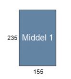 miidel 1 boek formaat